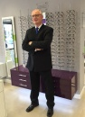 6 May 2016 - Claudio Ranieri visits local opticians