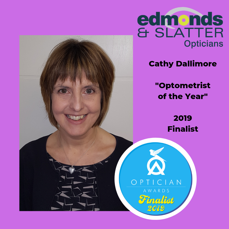 Cathy Dallimore Optometrist of the Year 2019 Finalist